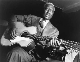 Lead Belly publicity shot