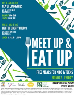 Meet Up Amp Eat Up July 10 August 18 In Oak Park Il